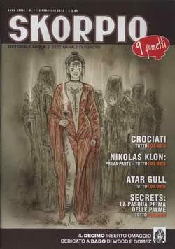 Copertina SKORPIO ANNO 36 n.4 - SKORPIO 2012             4, EDITORIALE AUREA