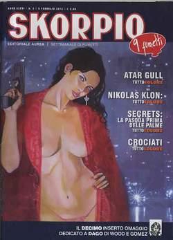 Copertina SKORPIO ANNO 36 n.5 - SKORPIO 2012             5, EDITORIALE AUREA