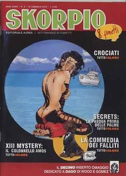 Copertina SKORPIO ANNO 36 n.6 - SKORPIO 2012             6, EDITORIALE AUREA