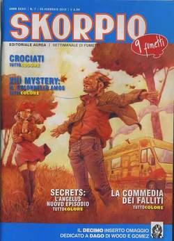 Copertina SKORPIO ANNO 36 n.7 - SKORPIO 2012             7, EDITORIALE AUREA