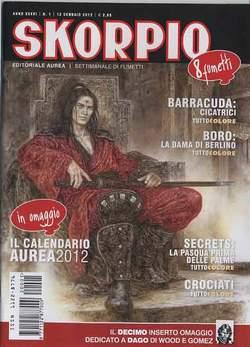 Copertina SKORPIO ANNO 36 n.1 - SKORPIO 2012             1, EDITORIALE AUREA