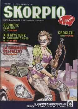 Copertina SKORPIO ANNO 36 n.8 - SKORPIO 2012             8, EDITORIALE AUREA