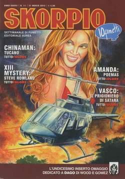 Copertina SKORPIO ANNO 37 n.11 - SKORPIO 2013             11, EDITORIALE AUREA