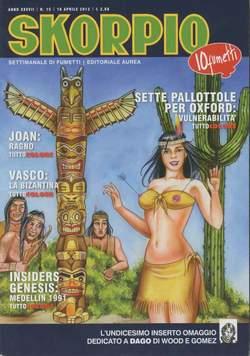 Copertina SKORPIO ANNO 37 n.15 - SKORPIO 2013             15, EDITORIALE AUREA