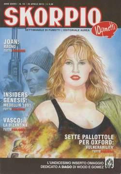 Copertina SKORPIO ANNO 37 n.16 - SKORPIO 2013             16, EDITORIALE AUREA