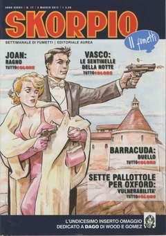 Copertina SKORPIO ANNO 37 n.17 - SKORPIO 2013             17, EDITORIALE AUREA