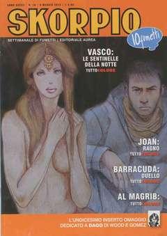 Copertina SKORPIO ANNO 37 n.18 - SKORPIO 2013             18, EDITORIALE AUREA