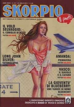 Copertina SKORPIO ANNO 37 n.29 - SKORPIO 2013             29, EDITORIALE AUREA