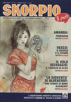 Copertina SKORPIO ANNO 37 n.30 - SKORPIO 2013             30, EDITORIALE AUREA