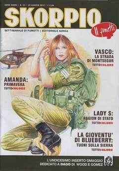 Copertina SKORPIO ANNO 37 n.34 - SKORPIO 2013             34, EDITORIALE AUREA