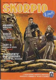 Copertina SKORPIO ANNO 37 n.35 - SKORPIO 2013             35, EDITORIALE AUREA