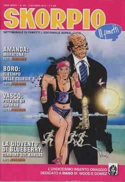 Copertina SKORPIO ANNO 37 n.39 - SKORPIO 2013             39, EDITORIALE AUREA