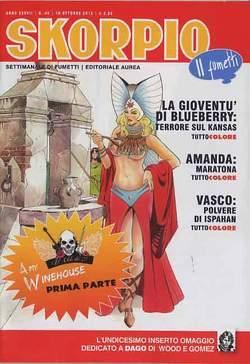 Copertina SKORPIO ANNO 37 n.40 - SKORPIO 2013             40, EDITORIALE AUREA