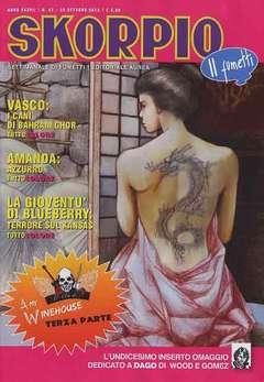 Copertina SKORPIO ANNO 37 n.42 - SKORPIO 2013             42, EDITORIALE AUREA