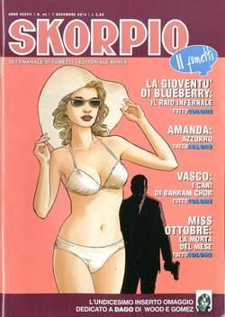 Copertina SKORPIO ANNO 37 n.44 - SKORPIO 2013             44, EDITORIALE AUREA