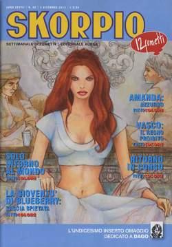 Copertina SKORPIO ANNO 37 n.48 - SKORPIO 2013             48, EDITORIALE AUREA