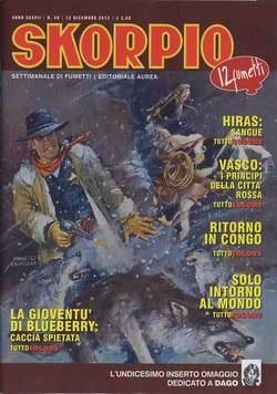 Copertina SKORPIO ANNO 37 n.49 - SKORPIO 2013             49, EDITORIALE AUREA