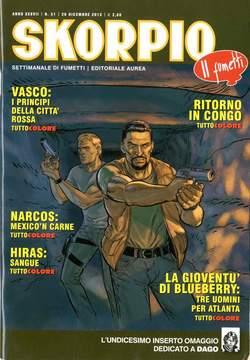Copertina SKORPIO ANNO 37 n.51 - SKORPIO 2013             51, EDITORIALE AUREA