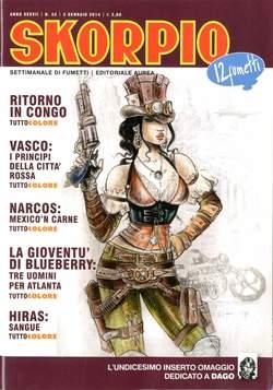 Copertina SKORPIO ANNO 37 n.52 - SKORPIO 2013             52, EDITORIALE AUREA
