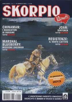 Copertina SKORPIO ANNO 37 n.1 - SKORPIO 2013             1, EDITORIALE AUREA