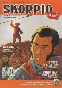 Copertina SKORPIO ANNO 37 n.8 - SKORPIO 2013             8, EDITORIALE AUREA