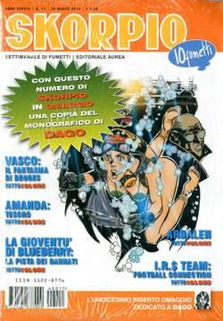 Copertina SKORPIO ANNO 38 n.11 - SKORPIO 2014             11, EDITORIALE AUREA