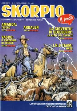 Copertina SKORPIO ANNO 38 n.12 - SKORPIO 2014             12, EDITORIALE AUREA
