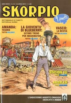 Copertina SKORPIO ANNO 38 n.16 - SKORPIO 2014             16, EDITORIALE AUREA