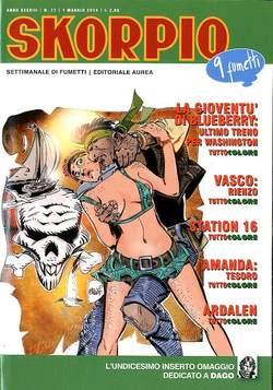 Copertina SKORPIO ANNO 38 n.17 - SKORPIO 2014             17, EDITORIALE AUREA