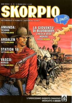 Copertina SKORPIO ANNO 38 n.19 - SKORPIO 2014             19, EDITORIALE AUREA