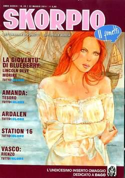 Copertina SKORPIO ANNO 38 n.20 - SKORPIO 2014             20, EDITORIALE AUREA