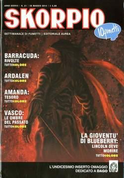 Copertina SKORPIO ANNO 38 n.21 - SKORPIO 2014             21, EDITORIALE AUREA