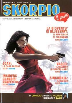 Copertina SKORPIO ANNO 38 n.26 - SKORPIO 2014             26, EDITORIALE AUREA