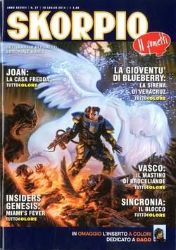 Copertina SKORPIO ANNO 38 n.27 - SKORPIO 2014             27, EDITORIALE AUREA