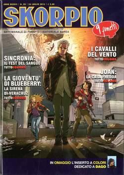Copertina SKORPIO ANNO 38 n.29 - SKORPIO 2014             29, EDITORIALE AUREA
