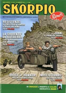 Copertina SKORPIO ANNO 38 n.32 - SKORPIO 2014             32, EDITORIALE AUREA