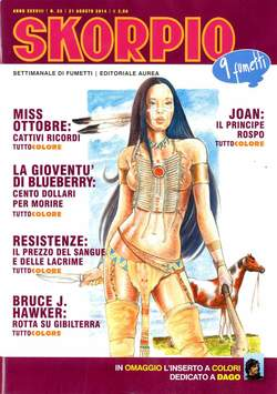 Copertina SKORPIO ANNO 38 n.33 - SKORPIO 2014             33, EDITORIALE AUREA