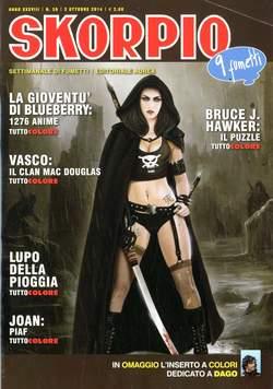 Copertina SKORPIO ANNO 38 n.39 - SKORPIO 2014             39, EDITORIALE AUREA