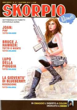 Copertina SKORPIO ANNO 38 n.41 - SKORPIO 2014             41, EDITORIALE AUREA