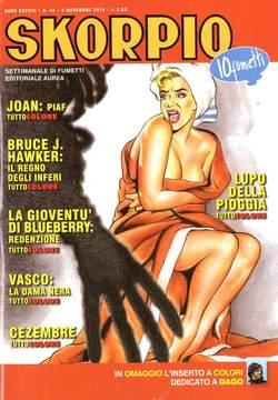 Copertina SKORPIO ANNO 38 n.44 - SKORPIO 2014             44, EDITORIALE AUREA