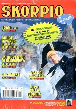 Copertina SKORPIO ANNO 38 n.45 - SKORPIO 2014             45, EDITORIALE AUREA