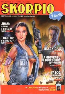 Copertina SKORPIO ANNO 38 n.48 - SKORPIO 2014             48, EDITORIALE AUREA