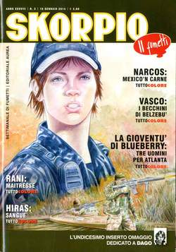 Copertina SKORPIO ANNO 38 n.2 - SKORPIO 2014             2, EDITORIALE AUREA