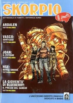 Copertina SKORPIO ANNO 38 n.6 - SKORPIO 2014             6, EDITORIALE AUREA