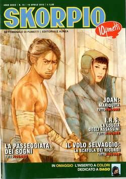 Copertina SKORPIO ANNO 39 n.15 - SKORPIO 2015             15, EDITORIALE AUREA