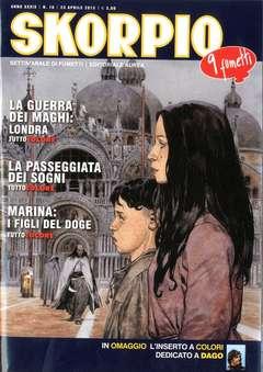 Copertina SKORPIO ANNO 39 n.16 - SKORPIO 2015             16, EDITORIALE AUREA