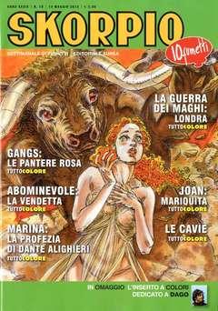 Copertina SKORPIO ANNO 39 n.19 - SKORPIO 2015             19, EDITORIALE AUREA