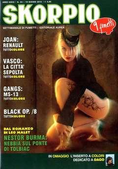 Copertina SKORPIO ANNO 39 n.24 - SKORPIO 2015             24, EDITORIALE AUREA