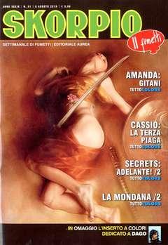 Copertina SKORPIO ANNO 39 n.31 - SKORPIO 2015             31, EDITORIALE AUREA