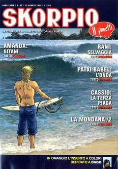 Copertina SKORPIO ANNO 39 n.32 - SKORPIO 2015             32, EDITORIALE AUREA